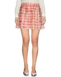 RED Valentino - Mini Skirts - Lyst
