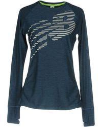 New Balance - T-shirt - Lyst