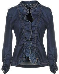 Armani Jeans - Denim Outerwear - Lyst
