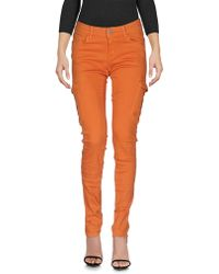 Pianurastudio Denim Pants - Orange