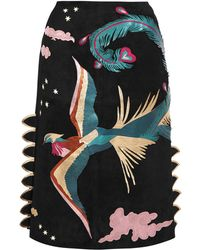 Valentino - 3/4 Length Skirt - Lyst