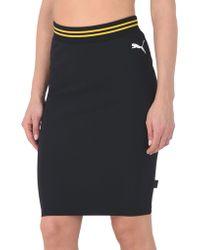 PUMA - Knee Length Skirt - Lyst
