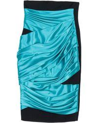 Emanuel Ungaro Short Dress - Blue