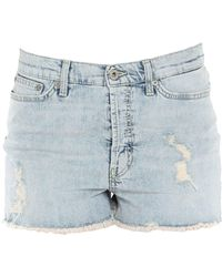 Dondup - Denim Shorts - Lyst
