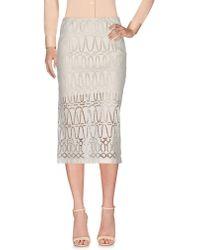 Donna Karan - 3/4 Length Skirt - Lyst