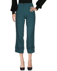 Pf Paola Frani - Casual Trouser - Lyst