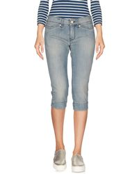 Notify - Denim Bermudas - Lyst