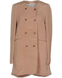 Lardini - Overcoat - Lyst