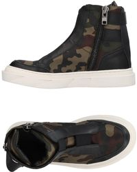 brand new 09c3a 8f4ca D by D - Sneakers abotinadas - Lyst