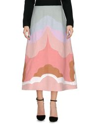 Valentino - 3/4 Length Skirt - Lyst
