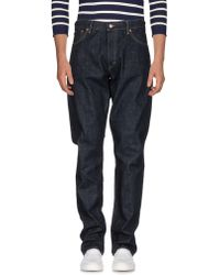 Ralph Lauren Black Label - Denim Trousers - Lyst