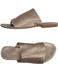 Manila Grace - Toe Post Sandal - Lyst