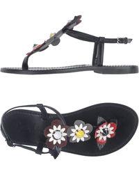 Doriamaria - Toe Strap Sandal - Lyst