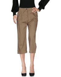 Novemb3r - 3/4-length Shorts - Lyst