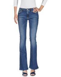 People - Pantaloni jeans - Lyst