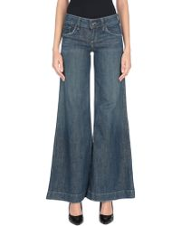 Juicy Couture - Denim Trousers - Lyst