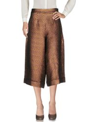 Ultrachic - 3/4-length Trousers - Lyst
