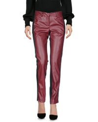 Sonia Fortuna - Casual Pants - Lyst