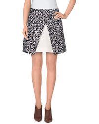Cameo - Mini Skirt - Lyst