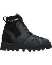 099bcdd243 Z Zegna Almond Toe Chelsea Boots in Black for Men - Lyst