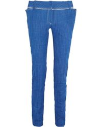 Ronald Van Der Kemp - Denim Trousers - Lyst