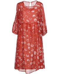 Roberta Scarpa - Knee-length Dress - Lyst