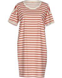 Lee Jeans - Short Dress - Lyst