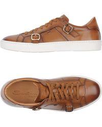 Santoni | Low-tops & Sneakers | Lyst