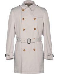Tru Trussardi - Overcoat - Lyst