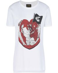 Vivienne Westwood Anglomania - T-shirt - Lyst