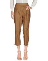 Erika Cavallini Semi Couture - Casual Pants - Lyst