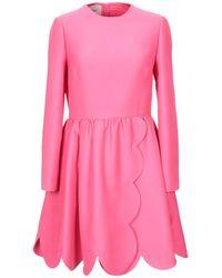 Valentino - Short Dress - Lyst