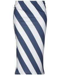 Iceberg - 3/4 Length Skirt - Lyst