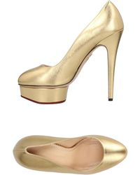 Charlotte Olympia - Court Shoes - Lyst