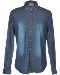 Robert Friedman - Denim Shirt - Lyst