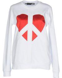Love Moschino | Sweatshirt | Lyst