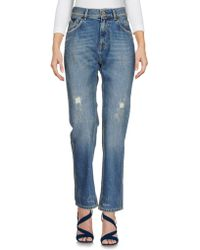 Pence - Denim Trousers - Lyst