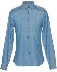 Dekker - Denim Shirt - Lyst