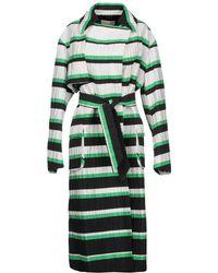 Emilio Pucci - Oversized Stripe Coat - Lyst