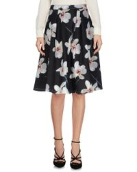 No Secrets - Knee Length Skirts - Lyst