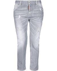 DSquared² - Denim Trousers - Lyst