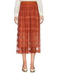 Vero Moda - 3/4 Length Skirts - Lyst
