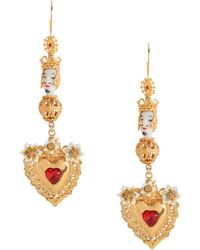 Dolce & Gabbana - Earrings - Lyst