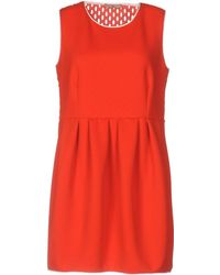DV ROMA - Short Dress - Lyst