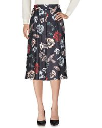 No Secrets - 3/4 Length Skirts - Lyst