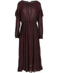 MASSCOB - 3/4 Length Dress - Lyst
