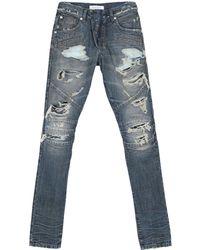 Balmain - Pantalon en jean - Lyst