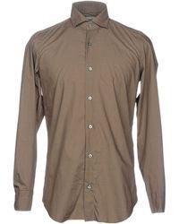 Drumohr - Shirt - Lyst