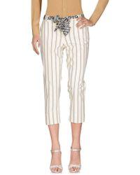 Pianurastudio - 3/4-length Trousers - Lyst