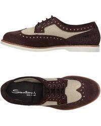 Santoni - Lace-up Shoe - Lyst
